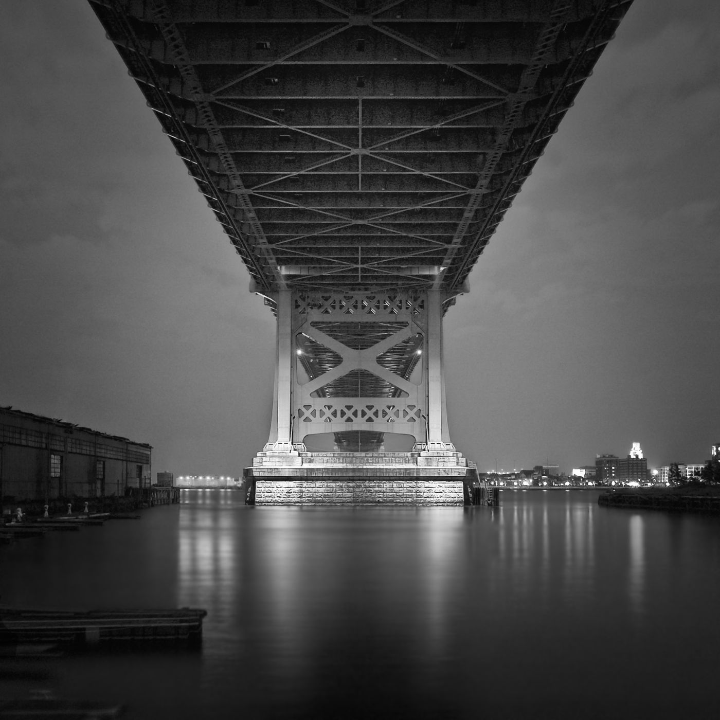 "Michael Penn's ""Under The Bridge At Night"" photograph"