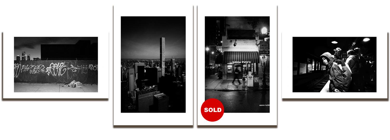 Four photos from MANIFESTO series